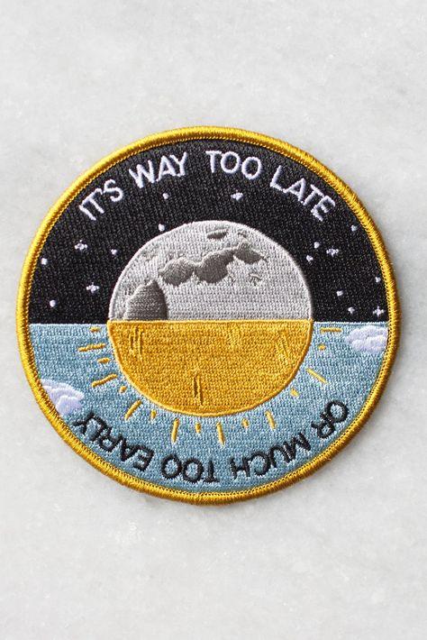 Costume costume astronauta Nasa patch ricamato Sew//Iron On badge logo