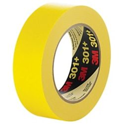 3m 301 Masking Tape 3 Core 1 X 180 Yellow Case Of 12 Item 347342 With Images Masking Tape Tape Yellow Case