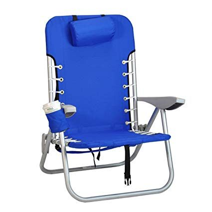 Awesome Rio Beach Lace Up Suspension Folding Backpack Beach Chair Gmtry Best Dining Table And Chair Ideas Images Gmtryco
