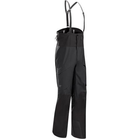 Arc'teryx Rush LT Pant Men's Black | Mens ski pants