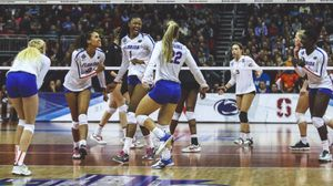 Find Ncaa Di Women S College Volleyball Scores Schedules Rankings Brackets Stats Video News Championships Volleyball Women Volleyball Volleyball Scoring