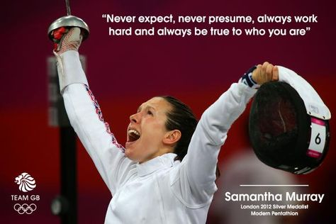 Samantha Murray became the World Champion in Modern Pentathlon last week. Here is her secret