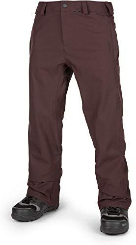 Volcom Mens Freakin Relaxed Fit Chino Style Snow Pant