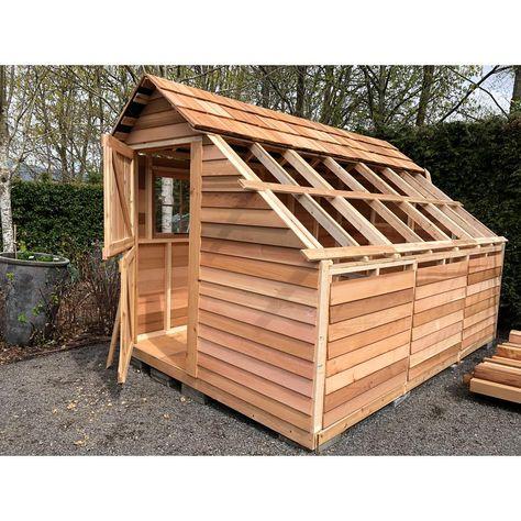 Best Cedarshed Sunhouse 8 Ft 9 In X 13 Ft Western Red Cedar 400 x 300