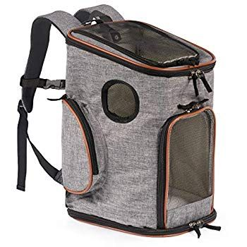 Pawfect Pets Soft Sided Pet Carrier Backpack For Small Dogs And Cats Airline Approved Designed For In 2020 Pet Backpack Carrier Small Dog Carrier Dog Backpack Carrier