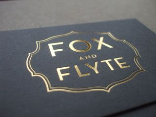 Foil embossed business cards gallery business card template 26 best business cards images on pinterest carte de visite visit fox and flyte foil stamp colourmoves