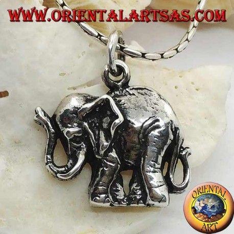 simbolo di protezione Ciondolo in argento 925 ‰   della Merkaba Mer-Ka-Ba