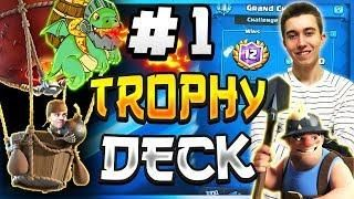 1 Deck For Trophy Pushing Best Balloon Cycle Deck Clash Royale Clash Royale Deck Clash Royale Deck