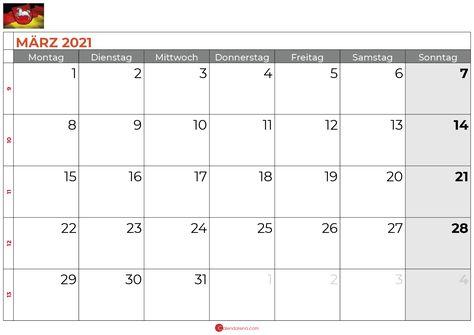Kalender Marz 2021 Niedersachsen Kalender Kalender Feiertage Marz