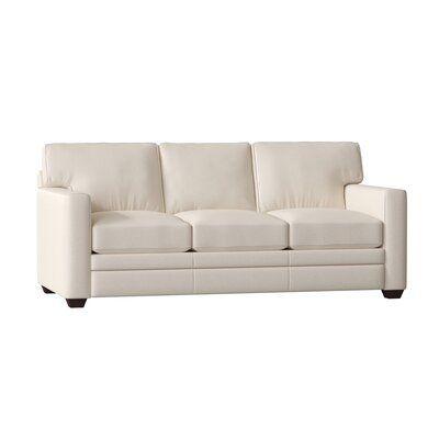 Wayfair Custom Upholstery Carleton Leather Sofa Bed Upholstery Color Durango Oatmeal Leather Sofa Leather Sofa Bed Upholstery Bed