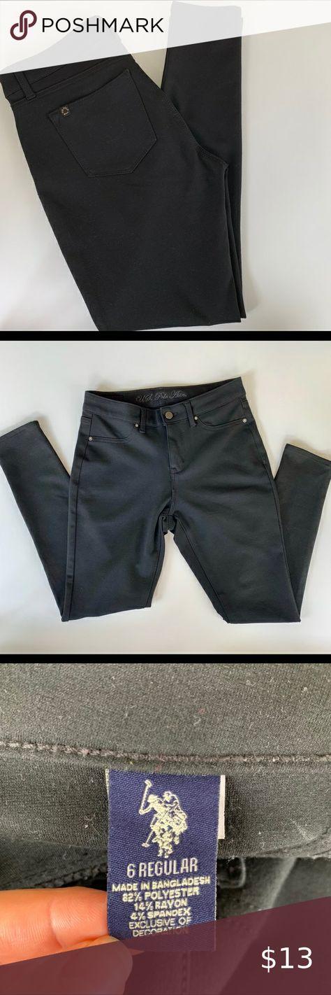 U S Polo Assn Black Pants Black Pants Pants Polo Assn