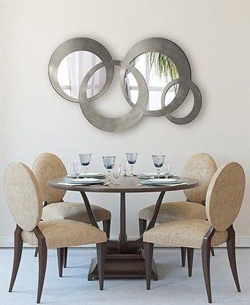 Atrévete con unos espejos para comedor modernos | Espejos ...