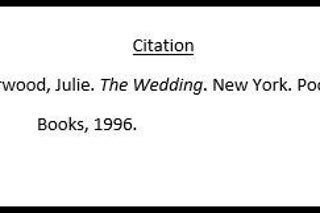 How To Cite A Book In Mla Format Citing A Book Writing Tips