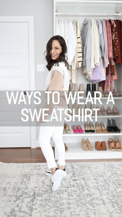 Simple Sweatshirt Outfits