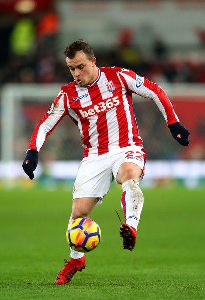 2018 World Cup Xherdan Shaqiri Stoke City Switzerland Midfielder Soccer Football Play Soccer