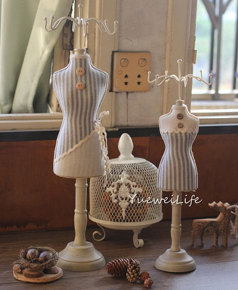 1:12 Dollhouse Miniature Clothes Model Form Stents Stands Furniture S6X5