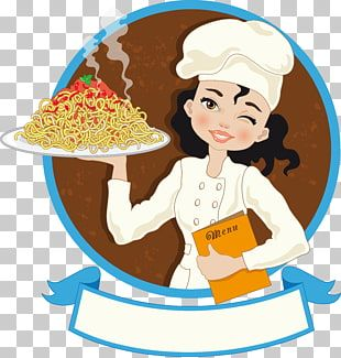 Mujer Sosteniendo Una Bandeja De Espaguetis Chef Cocinero Chef Sosteniendo Un Menu Png Clipart Cartoon Chef Cooking Png Chef Images