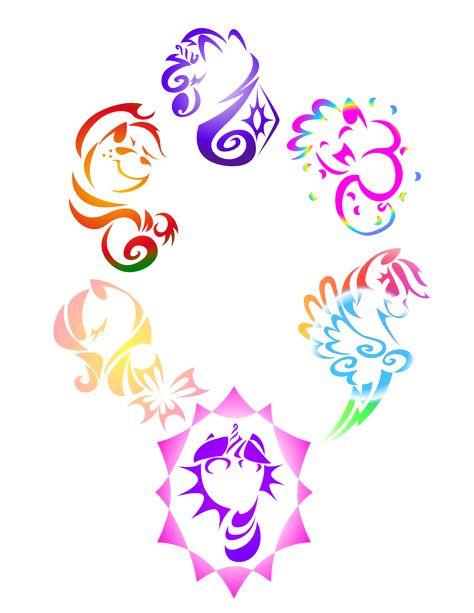 my+little+pony++fan+art | My Little Pony Tribal by ~KwartzKitten on deviantART