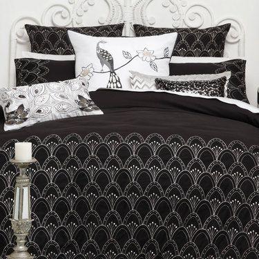 Logan & Mason Platinum Gatsby Quilt Cover Set Queen | Spotlight ... : quilt cover sets spotlight - Adamdwight.com