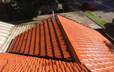 Concrete Tiles And Colorbond Roofing May Require Less Maintenance However Routine Maintenance Is Still Advised Roof Restoration Roof Paint Roof Renovation