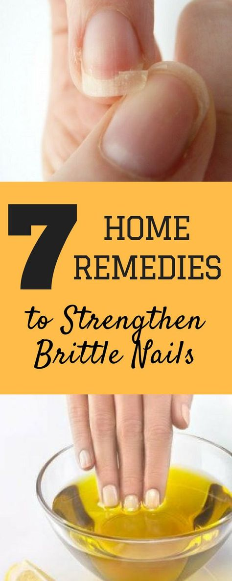 Learn about simple home-made remedies on how to make your nails strong in just few days. Use these 7 natural remedies to say goodbye to brittle nails.