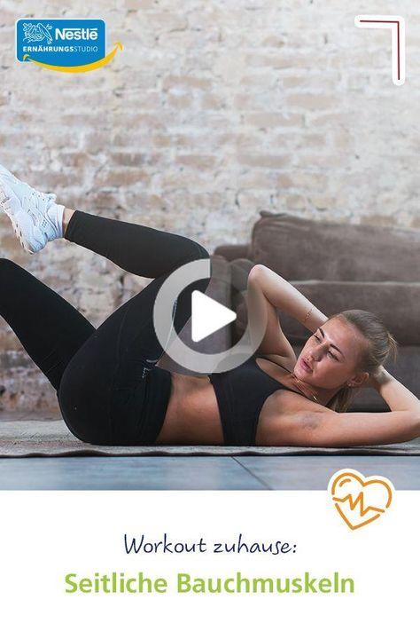 Die seitlichen Bauchmuskeln werden beim Training  gerne vergessen. Nicht so bei uns! Wir zeigen euch mit straffen Anleitungsvideos, wie ihr bei einem Workout zuhause diesen Bereich im Speziellen und Bauch-Beine-Po im Allgemeinen fit macht. #fitness #workout #fitnessübungen #training #workoutvideo #bauchbeinepo #bauchmuskeln #sixpack #nopainnogain #fitundgesund #fitnessathome #workoutathome #fitnessübungenfürzuhause #gesunderezepte