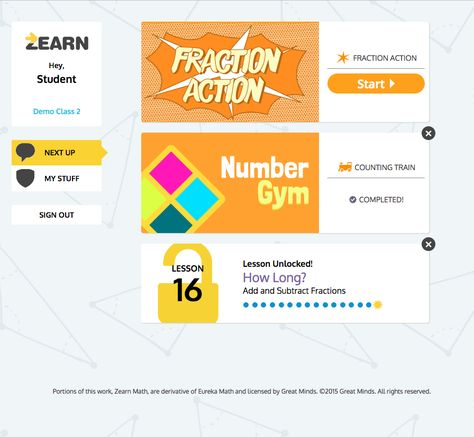 zearn number gym