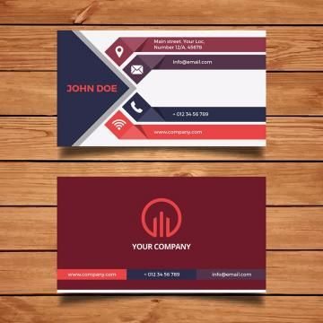 Business Card Design Template Modern Abstract Cards Creative Backgr Business Card Logo Design Business Cards Creative Templates Business Cards Creative