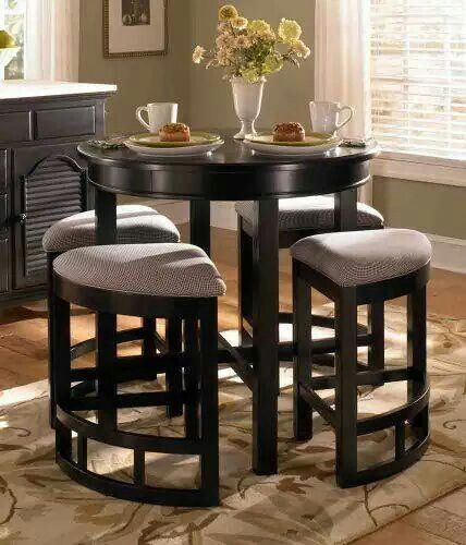 Simple Living 5 Piece Tobey Compact Round Dining Set | Simple Living, Small  Dining And Compact