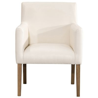 Lexington Cream Dining Chair With Images Faux Leather Dining