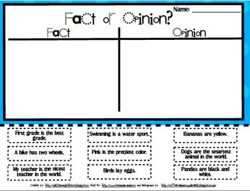 26 Best Teaching Fact Vs Opinion Ideas Fact And Opinion Teaching Reading Facts