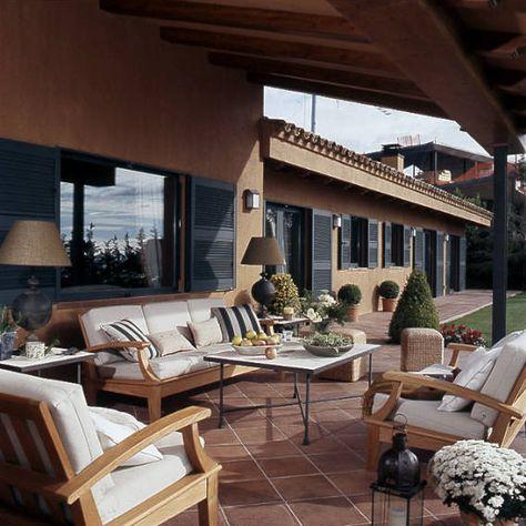 Vivienda unifamiliar Maresme #porche #rústico #exterior