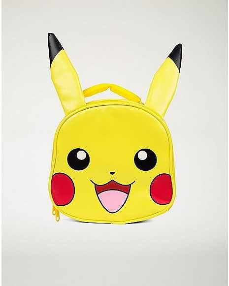 f943ee63fd70 Pikachu Lunch Box - Pokemon - Spencer's | Shopping | Pikachu, Lunch ...