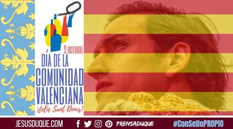 9 De Octubre Día De La Comunidad Valenciana Country Flags Flag