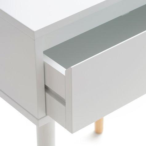 Side Table Met 1 Lade.Nachtkastje Met 1 Lade Janik La Redoute Interieurs La