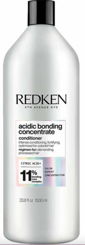 Acidic Bonding Concentrate Sulfate Free Conditioner for Damaged Hair - 1 Liter