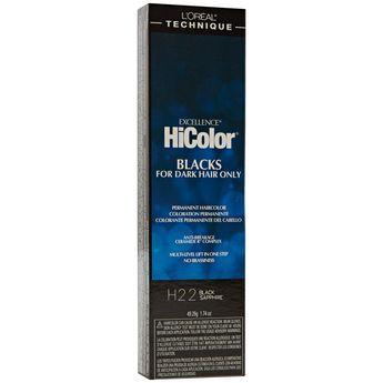 Hicolor Violet Black Shades Permanent Hair Color