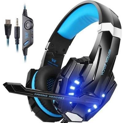 EACH Gaming Headset for PlayStation PS4 3 5mm FORTNITE Headphone Mic
