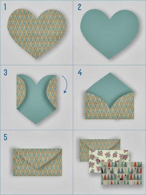 DIY: Sobres Handmade para las Notas de Agradecimiento en la Boda