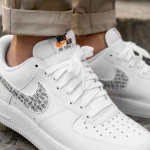 Escuchando espina revelación  Nike Air Force 1 Just Do It White - Grailify Sneaker Releases | Nike air, Nike  air force, Nike shoes air force