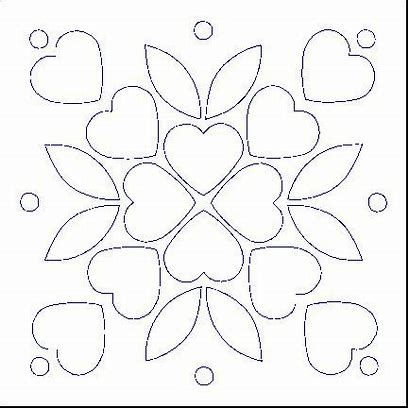 Flower Applique Template Patterns Free Bing Images Applique Quilt Patterns Free Applique Patterns Applique Patterns