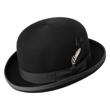 Bowler Hat Has Never Been Out Of Fashion Black Bowler Hat At Village Hat Shop Mens Hats Fashion Bowler Hat Black Bowler Hat