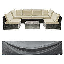 Patio Sectional Sofa Set Cover Outdoor
