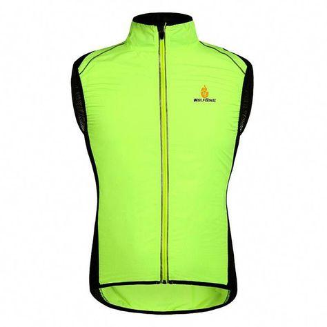 Wosawe Waterproof Cycling Coat Mens Windproof Road Bike Cycle Clothing Long Sleeve Sleeveless Jersey Wind Rain Ja Cycling Outfit Cycling Vest Cycling Jackets