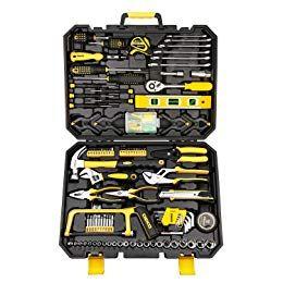 Dekopro Mixed Hand Tool Kit Hand Tool Kit Tool Box Socket Wrenches