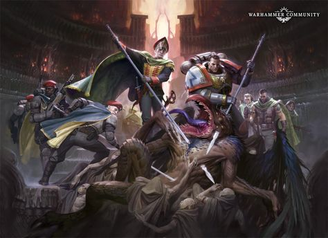 "159 Warhammer 40k Space Marine Fighting TV Game 24/""x32/"" Poster"