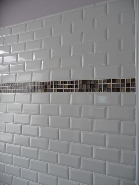 Subway Tiles For The Shower Walls Minus Mosiac