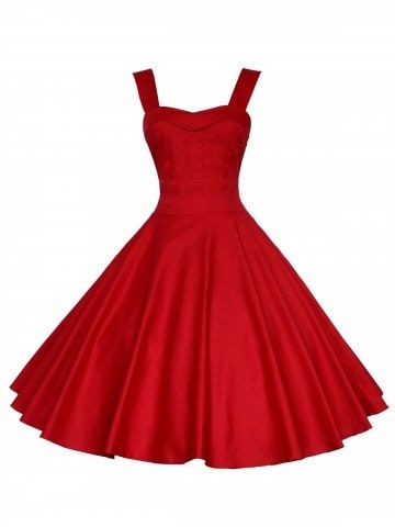 Christmas Off The Shoulder 50s Swing Dress Vintage Mini Dresses Vintage Dresses Online Mini Dress