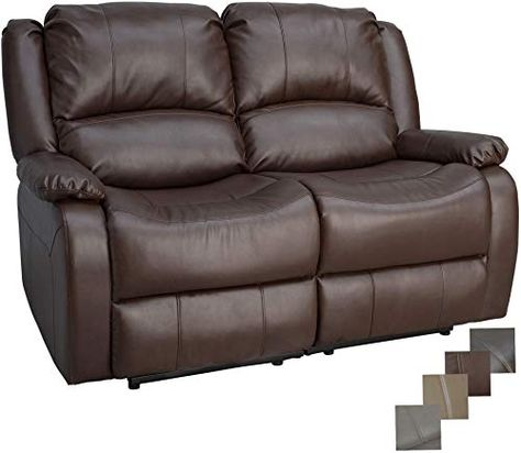 New Charles Ashton Home Collection 58 Double Recliner Sofa