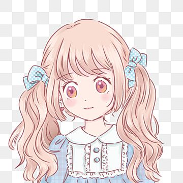 Cute Sweet Girl Soft Sister Comic Anime Avatar Comics Hand Painted Anime Png Transparent Clipart Image And Psd File For Free Download In 2021 Anime Black And White Cartoon Girl Cartoon